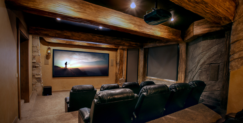 Home Theater Seating Big Fish Home Automation